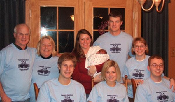 Family Fondue And Fight Night T-Shirt Photo