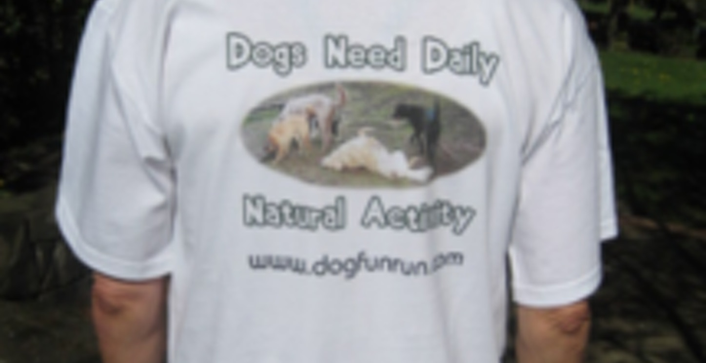 A Happy Dog Is Tired And Naturally Fulfilled Dog T-Shirt Photo