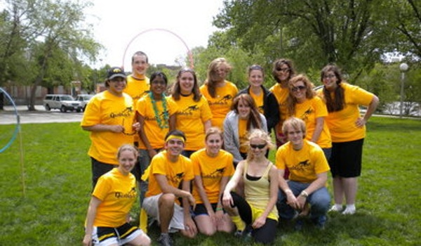 Muggles Learning To Play Quidditch T-Shirt Photo