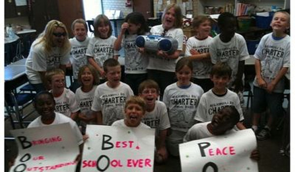 Ms. De Laney's Boom Boom Pow Class T-Shirt Photo