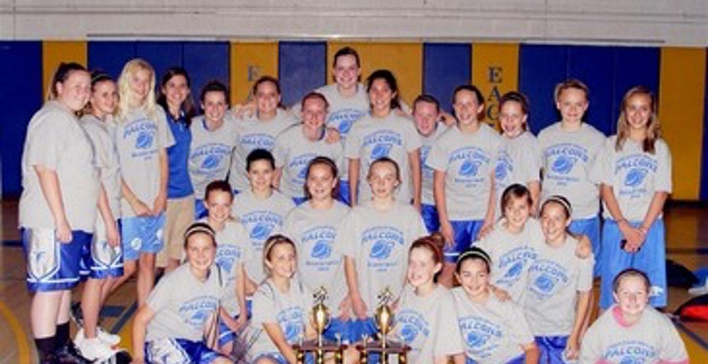Fh Basketball Champs! T-Shirt Photo