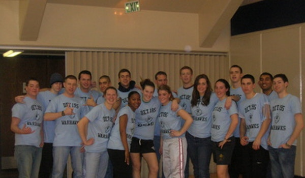 Good Looking Crowd Dressed In Good Looking Gear T-Shirt Photo