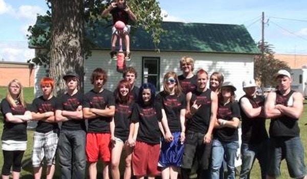 Hoff Planet Stunt Team Crew T-Shirt Photo