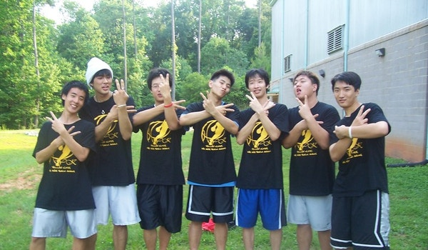 Yellow Kites Hoops Champions T-Shirt Photo