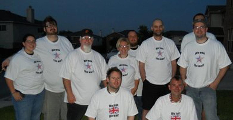 We Won! T-Shirt Photo