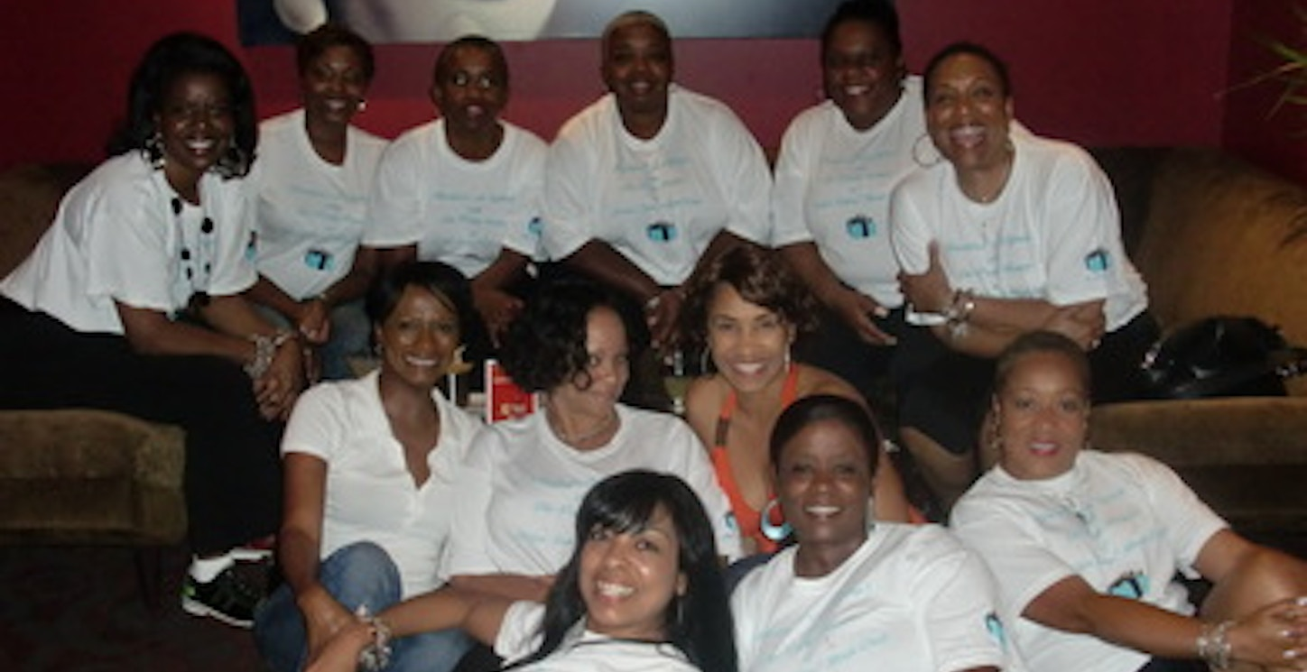 Breakfast At Tiffany's With The Pretty Women Of Ssbc!  T-Shirt Photo