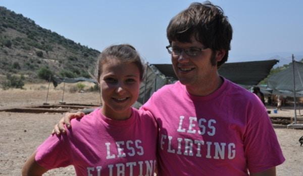 Less Flirting... More Digging! T-Shirt Photo