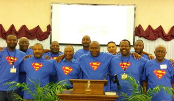 Supermen ~ Men's Fellowship T-Shirt Photo