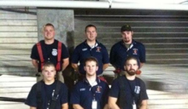 Novfd Before The 9 11 Memorial 110 Story Stair Climb T-Shirt Photo
