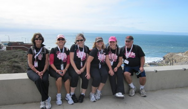 Day 1   Susan G Komen 3 Day For The Cure Sf 2010 T-Shirt Photo