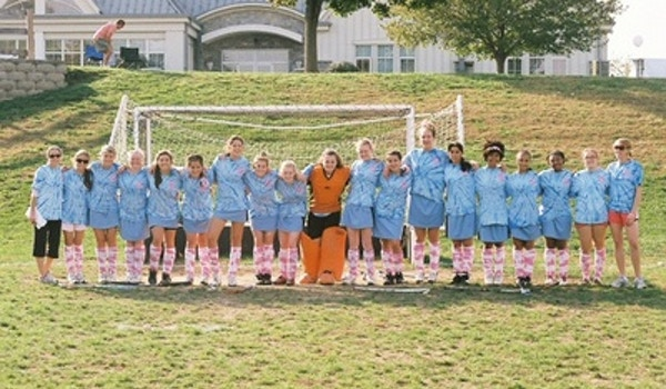 St. Timothy's School Field Hockey Team Plays 4 The Cure T-Shirt Photo