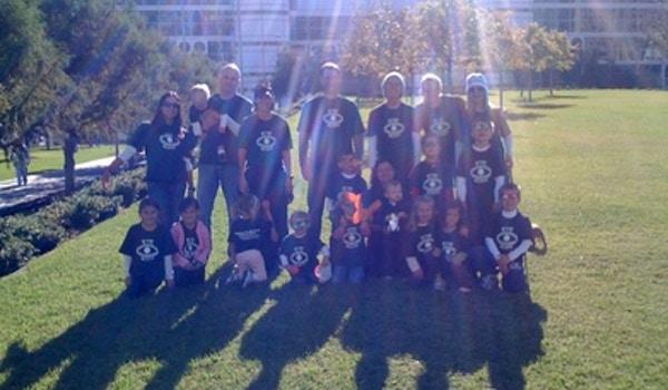 Team Eye Believe For Vision Walk T-Shirt Photo