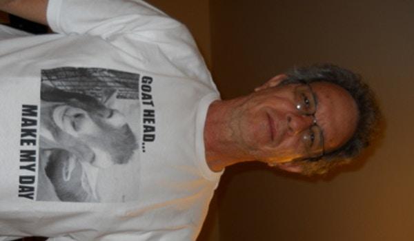 Don't Call Me A Goathead T-Shirt Photo