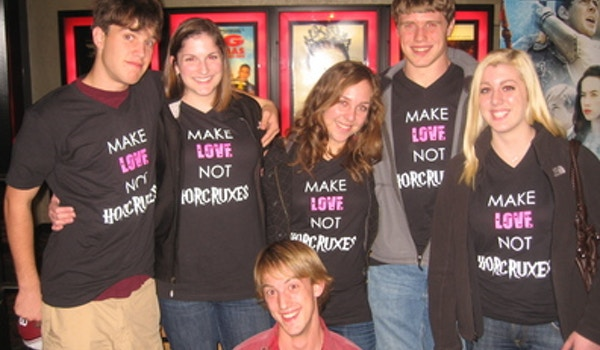 Make Love Not Horcruxes T-Shirt Photo