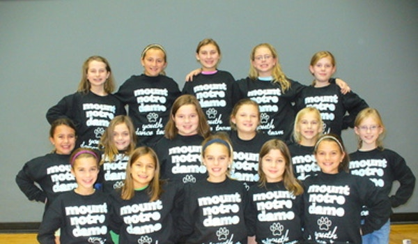 Mnd Cougars Youth Dance Team!! T-Shirt Photo