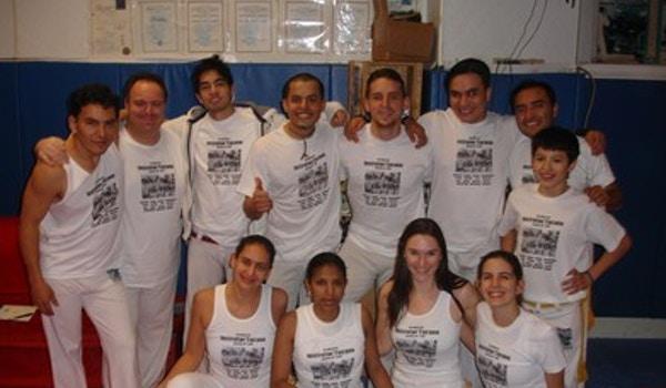 Students Of Capoeira Brasil Instrutor Tucano T-Shirt Photo