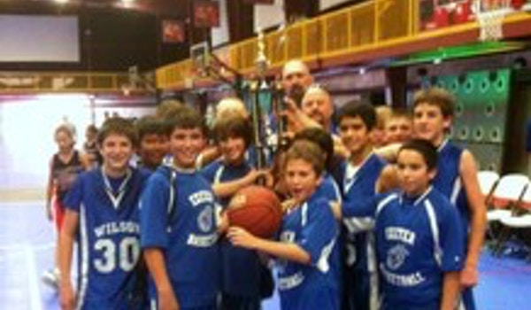 Exeter Basketball Champoinship T-Shirt Photo