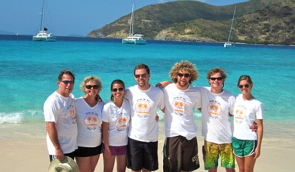 """Pirates Of Sandy Cay"" T-Shirt Photo"
