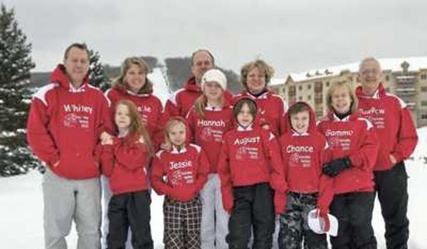 Annual Family Ski Trip T-Shirt Photo