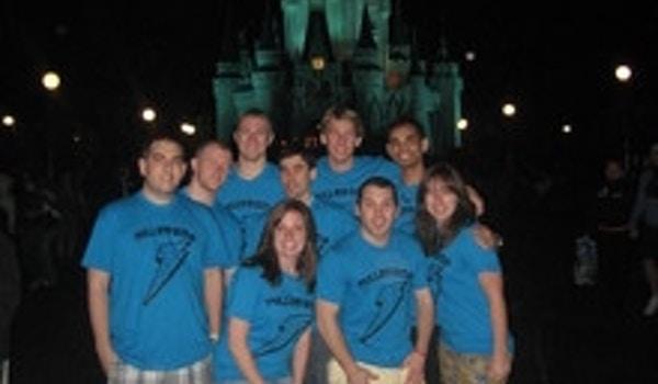 Spring Break '11 Bentley Ra Staff In Disney! T-Shirt Photo