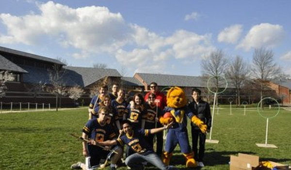 Oh Yeah We Play Real Quidditch!  T-Shirt Photo