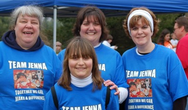 Team Jenna Jdrf  T-Shirt Photo