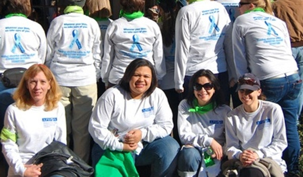 Walking For A Cure! T-Shirt Photo