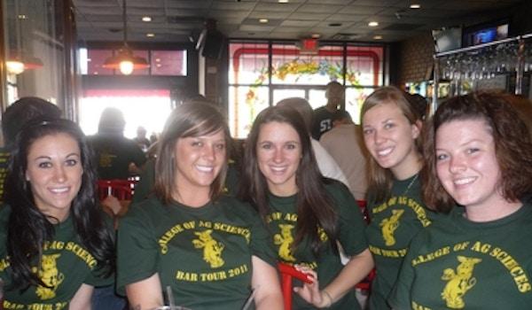 College Of Ag Bar Tour! T-Shirt Photo