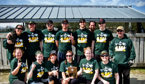 Hooligun Softball Team From Alaska T-Shirt Photo