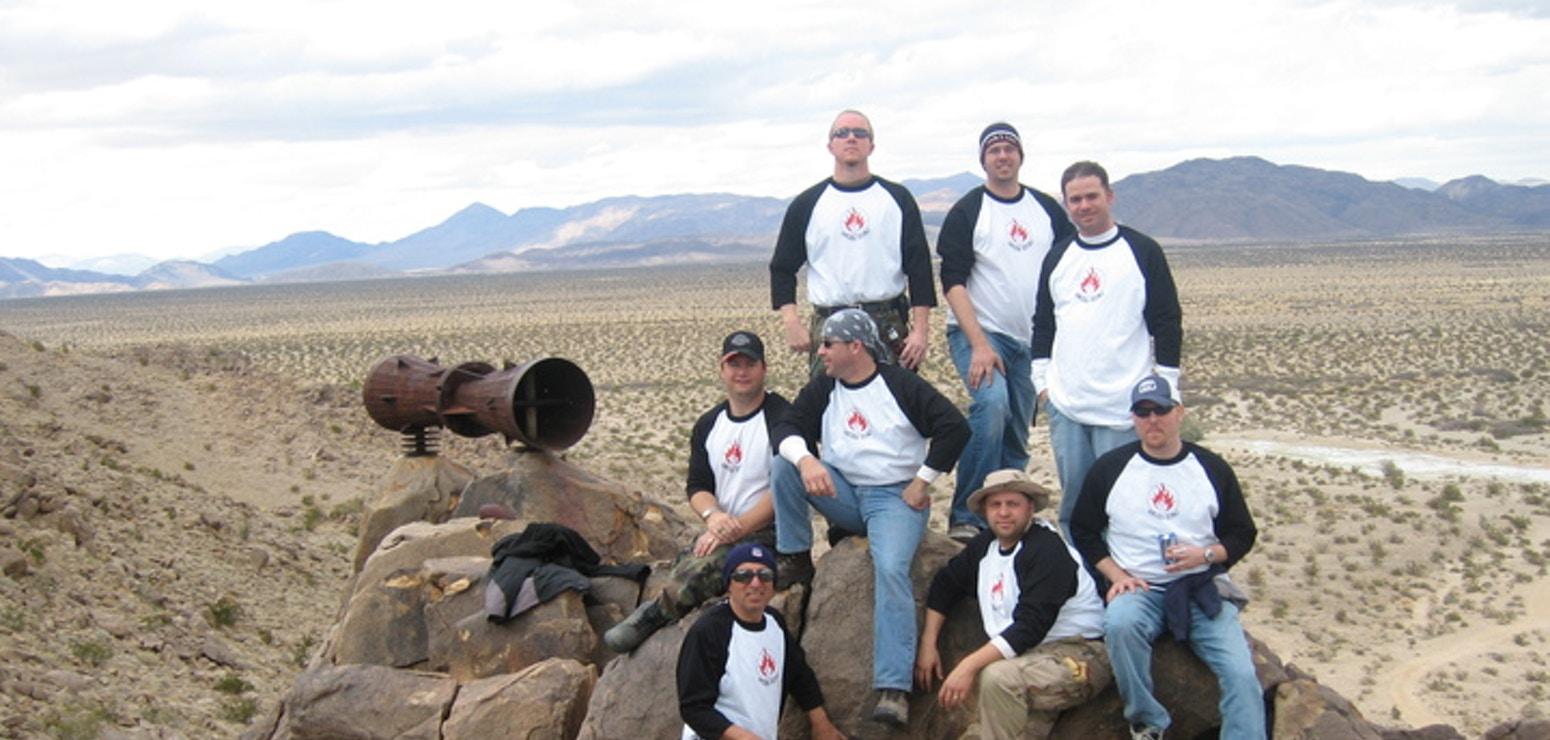 Desert Megaphone T-Shirt Photo