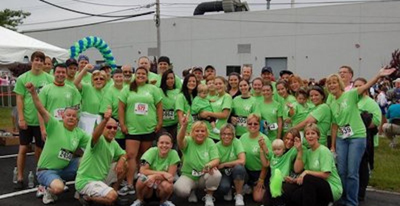 Team Courtney! Donate Life 5k T-Shirt Photo