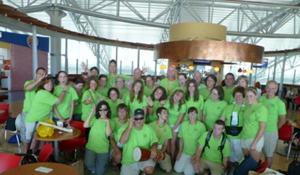 M.A.S.H.  Team Members Get A Little Silly T-Shirt Photo