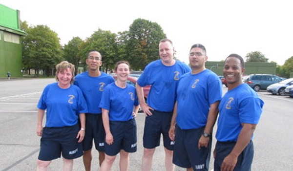 Us Navy Digby Dash 5 K Run 2011 T-Shirt Photo