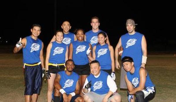 Blue Barracudas T-Shirt Photo