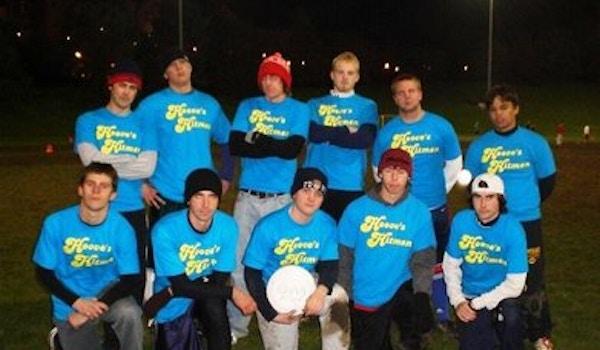 Hoove's Hitmen Intramural Ultimate Team T-Shirt Photo