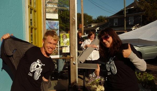 Get Pumped Up About Wedding Set Up! T-Shirt Photo