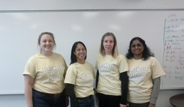 Bergen Tech Varsity Physics Team T-Shirt Photo