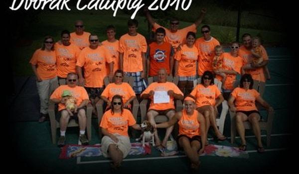 Dvorak Family Camping T-Shirt Photo