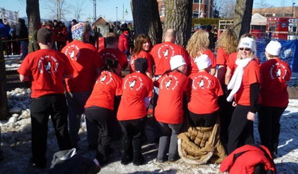 2012 Burlington, Vt Penguin Plunge T-Shirt Photo