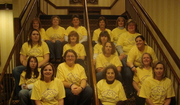 Discover The Joy  Rwc Gals 2012 T-Shirt Photo