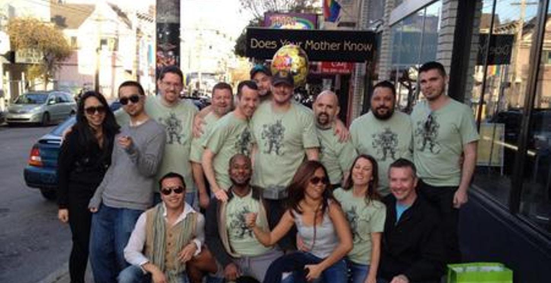 Joey's 46th Birthday Pub Crawl In Sf T-Shirt Photo