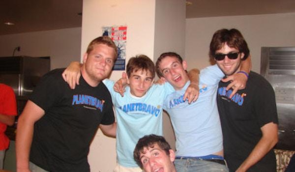 Planet Bravo Counselors Hanging Around T-Shirt Photo