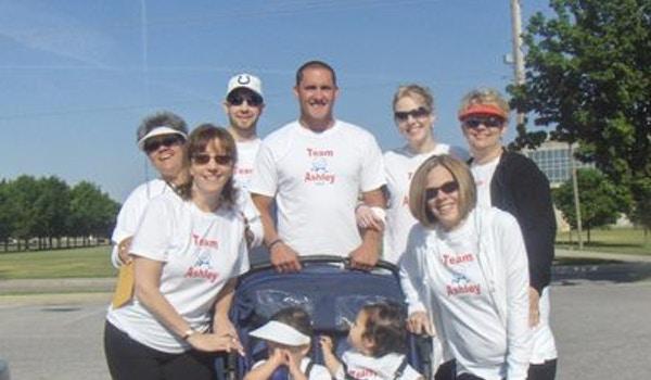 Cystic Fibrosis Walk 2007 T-Shirt Photo
