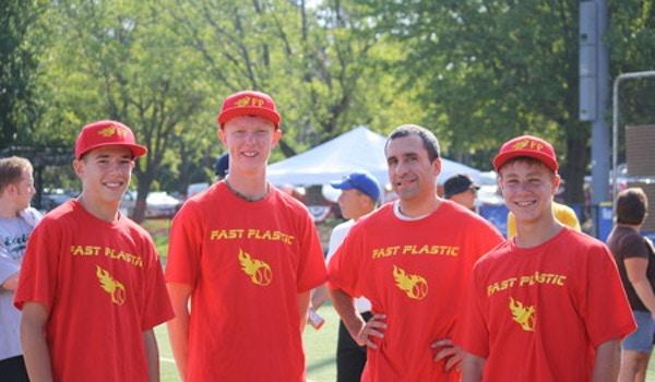 Fast Plastic Wiffle Ball Champions T-Shirt Photo