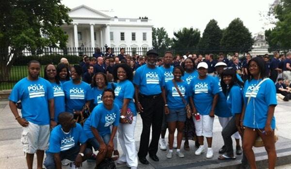 Polk Family Reunion Dc 2012 T-Shirt Photo