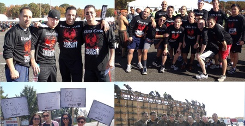 Chaos Crew 2012   Tough Mudder Tri State T-Shirt Photo