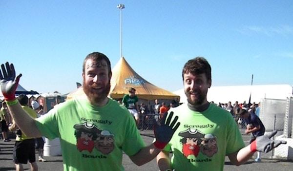 Tim & Skott @ Tough Mudder T-Shirt Photo