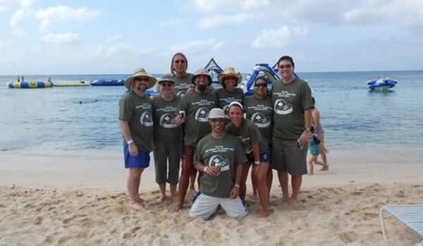 On The Beach In Cozumel! T-Shirt Photo