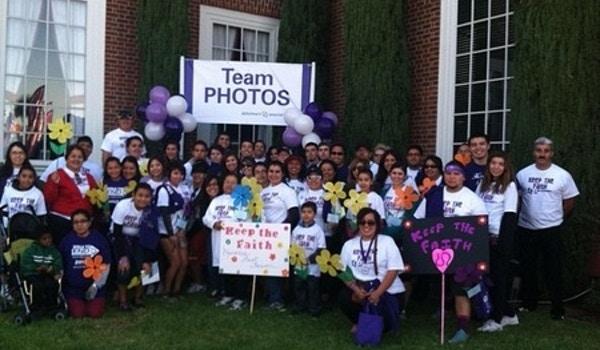 Alzheimer's Walk 2012 T-Shirt Photo
