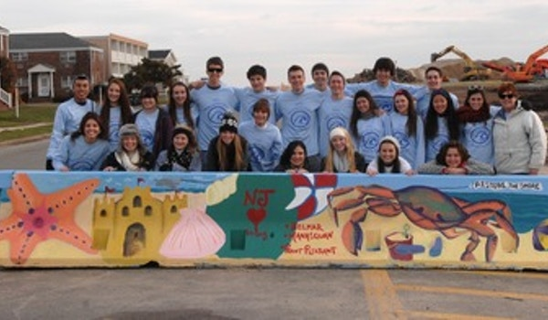 Students Restore The Jersey Shore  T-Shirt Photo
